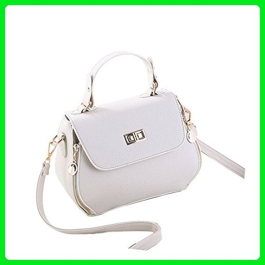 ef617a326952 LIZHIGU Womens Small Leather Shoulder Bag Fashion Top-handle ...
