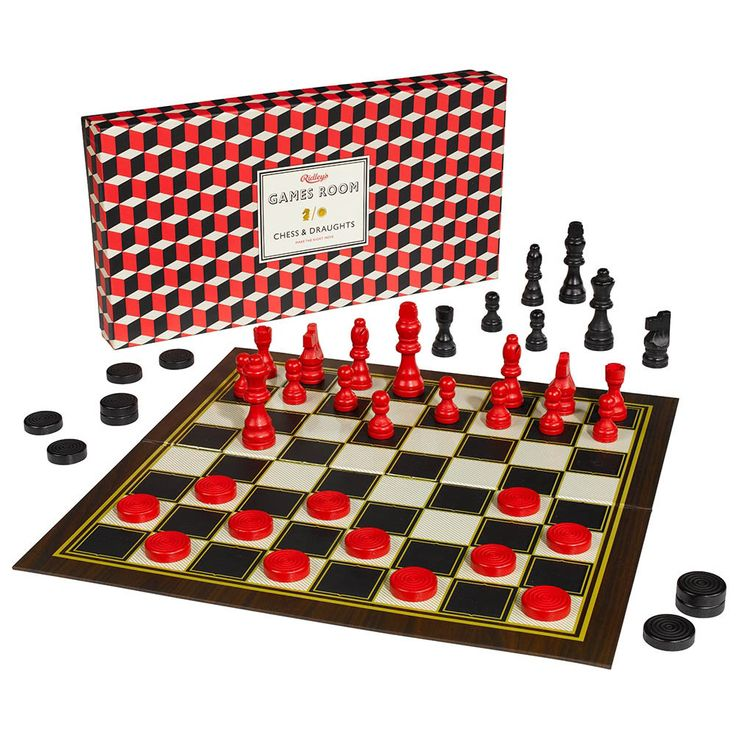 Chess & Checkers Set