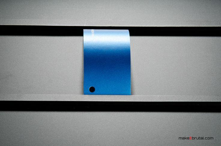 Matte Blue Metallic /4/