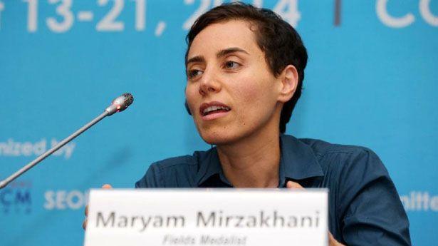 maryam mirzakhani of iran becomes first woman to win nobel