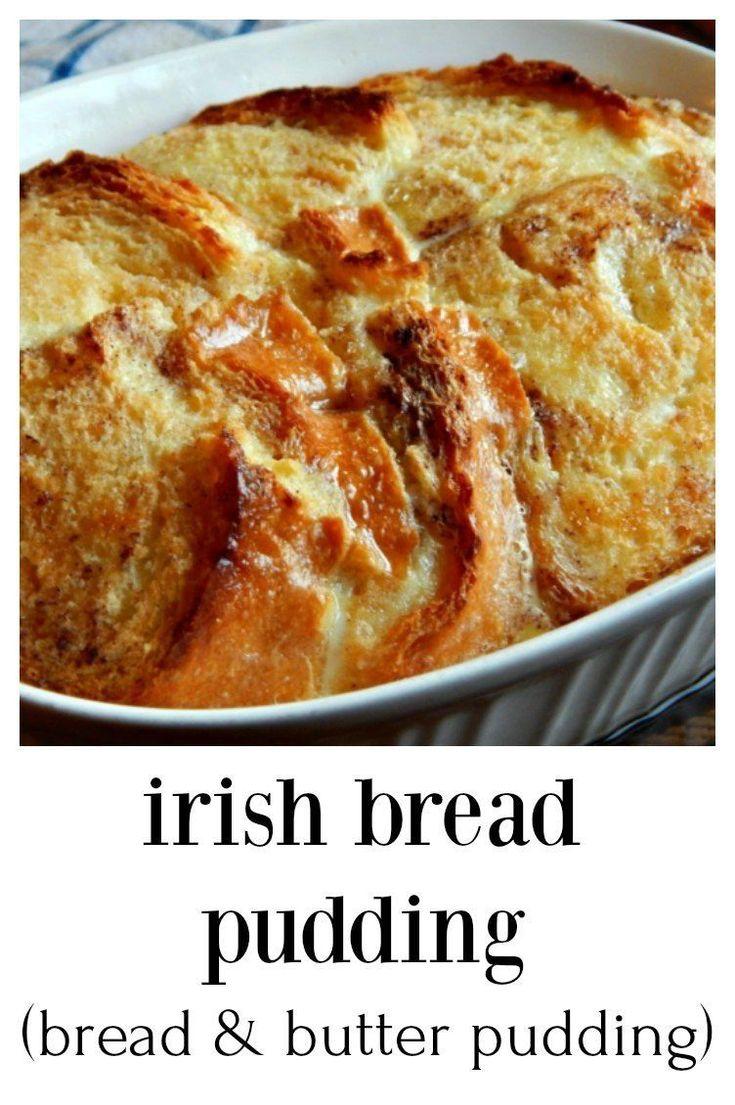 Apr 4, 2020 – Irish Bread Pudding – Bread & Butter Pudding – Frugal Hausfrau