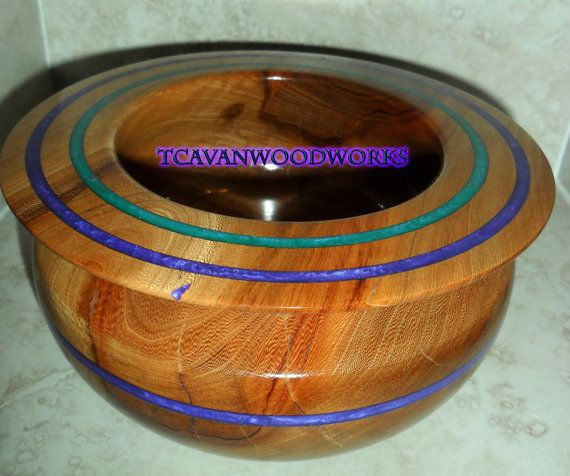 376 Best Images About Wood Turnings Inlaid With Iridescent