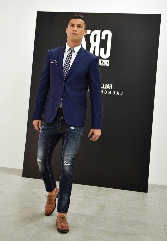 Cristiano Ronaldo In A Suit 2016