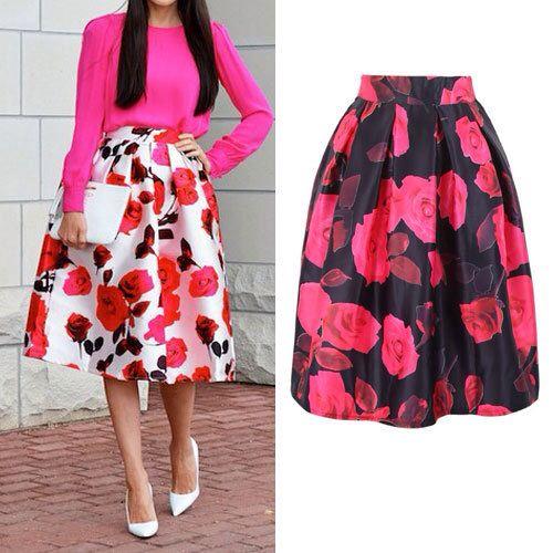 Las 25 mejores ideas sobre faldas floreadas en pinterest y - Telas de la india online ...