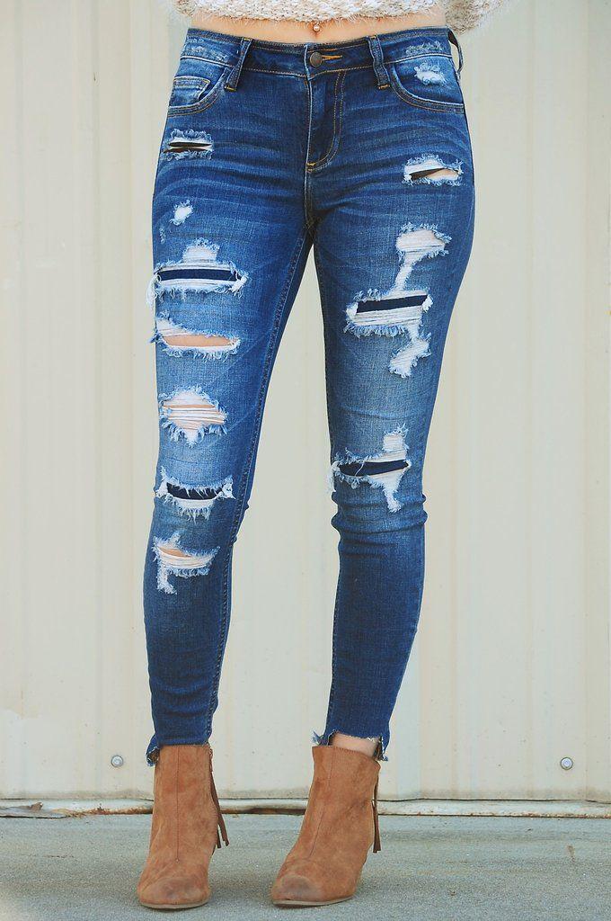 The Kendra Jeans: Denim