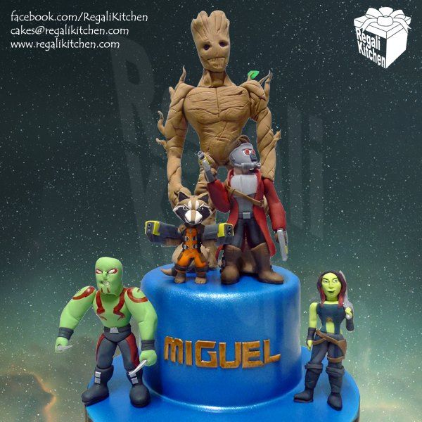 Guardians of the Galaxy Cake | by The Regali Kitchen