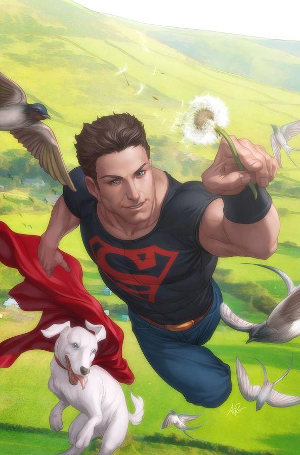 Superboy and Krypto •Stanley 'Artgerm' Lau