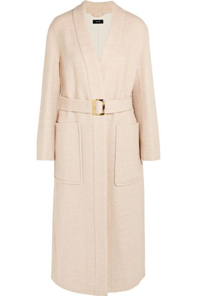 JOSEPH Wool-Blend Twill Coat. #joseph #cloth #coats