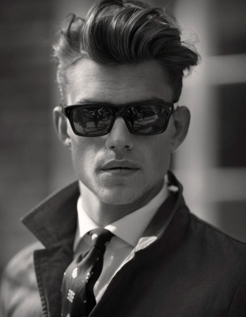 best place to buy glasses online e90h  Glasses, tie, hair popped collar