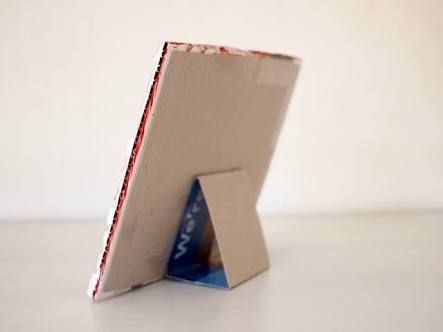 how to make a picture frame out of paper stand up - Google Search