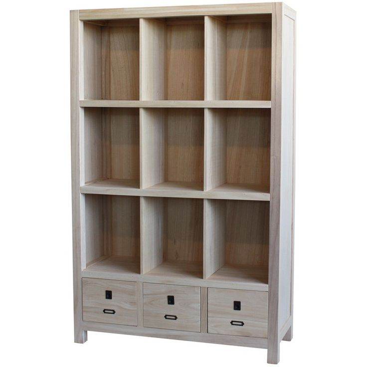 The Archbold All Wood Accents Modern Bookcase is an interesting option to a plain old bookcase. These wooden bookcases have a contemporary design.