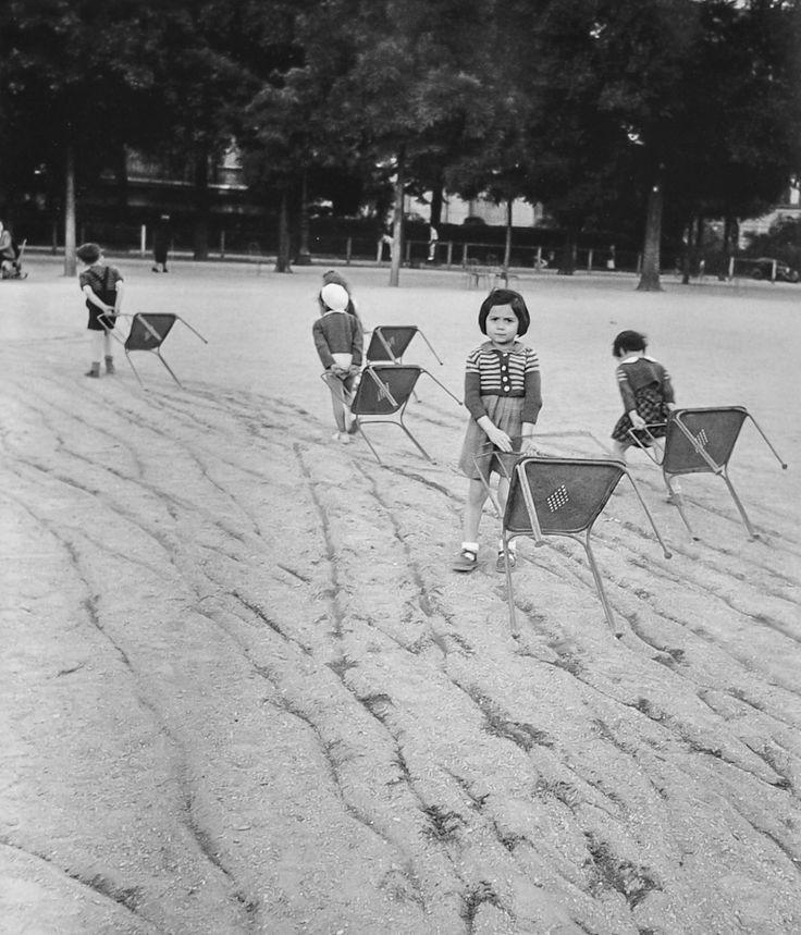 Robert Doisneau // Jardin du Luxembourg, 1951