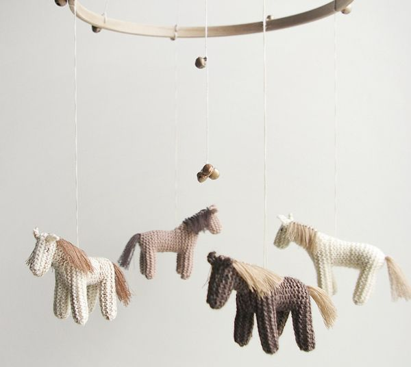 year of the horse nursery mobile Welcome little ponies, its the Chinese Year of the Horse