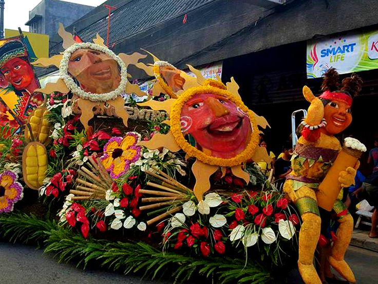 Pamulak sa Kadayawan is one of the biggest highlights of the Kadayawan Festival featuring gigantic floats decorated with local flora.