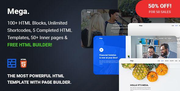 cool Mega - Multipurpose Responsive Template with Web page Builder (Enterprise)