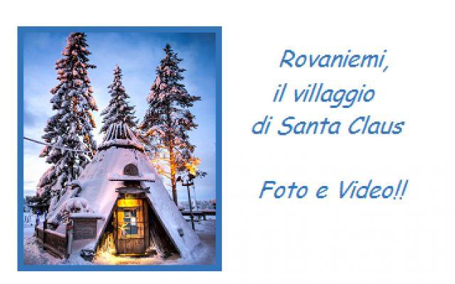 Foto e video girato all'interno del Villaggio di Santa Claus in Finlandia! #santaclaus #villaggio #finlandia #elfi