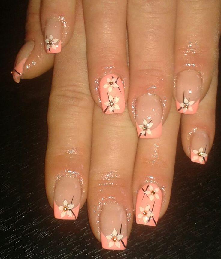 nails - jarní růžové