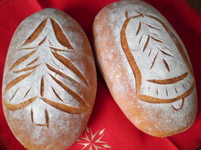 Хлебные узоры к Рождеству - СОЛНЕЧНЫЙ ПЕКАРЬ