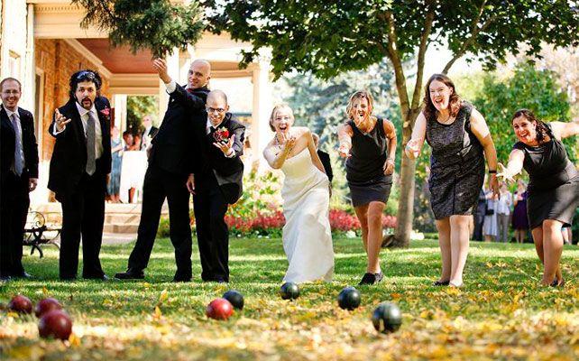 5 весёлых игр для летней свадьбы на свежем воздухе
