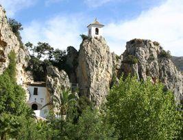 Campanario y Portal de Guadalest, Guadalest - Alicante