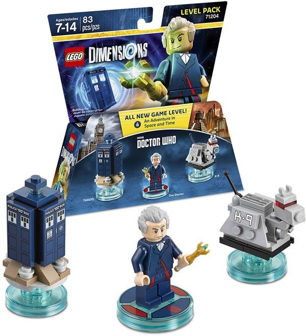LEGO Dimensions 71204 Doctor Who Level Pack - www.hothbricks.com