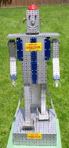 AC Gilbert Erector Set Giant Robot