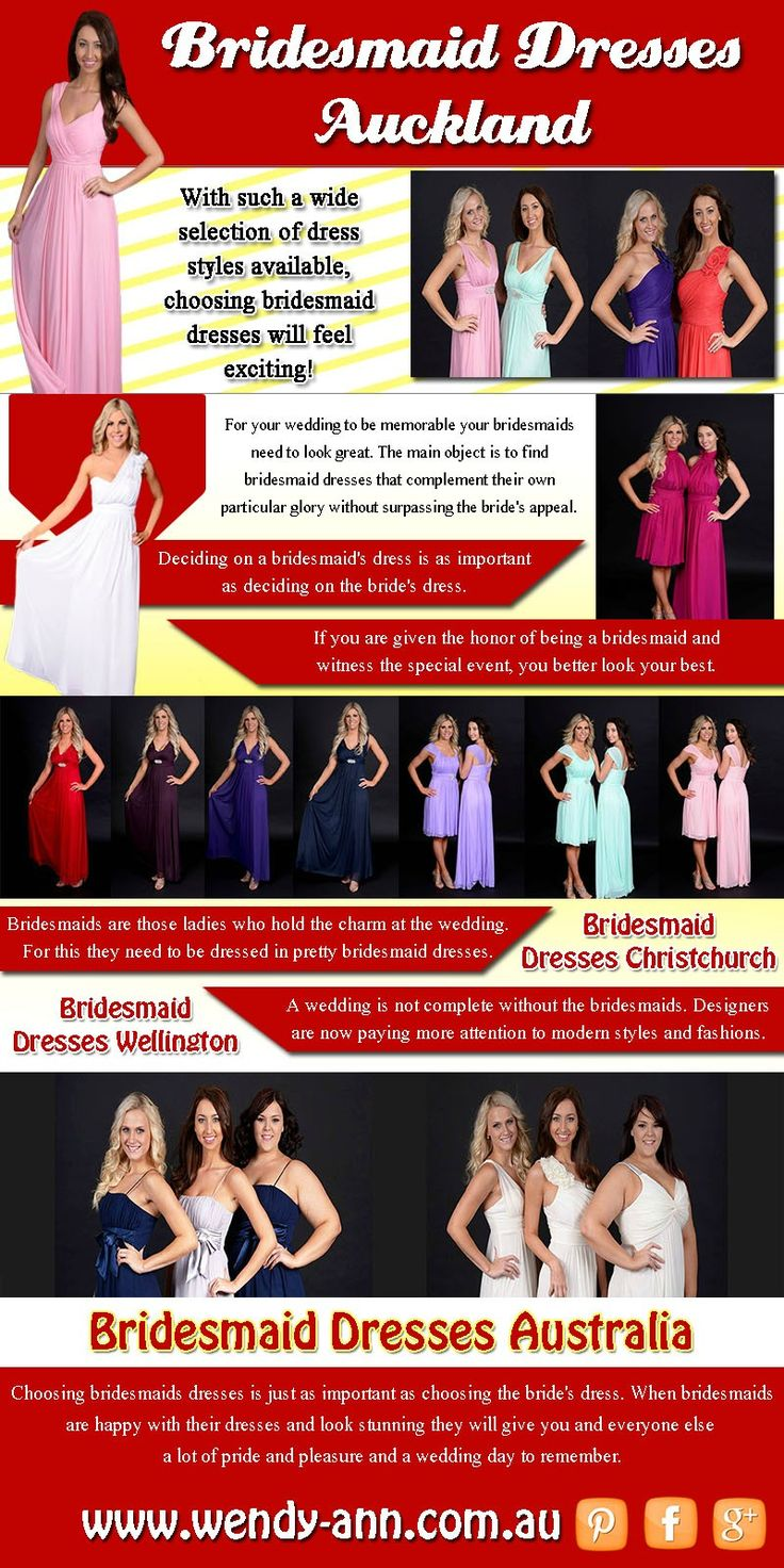 Visit this site http://wendy-ann.com.au/ for more information on Bridesmaid Dresses Auckland. For your wedding to be memorable your bridesmaids need to look great. To guide you through here are tips on how to buy the right Bridesmaid Dresses Auckland. Since you realize that bridesmaid dresses sold at fashioner shops or boutiques are considerably more lavish than dresses sold at one line dress stores. If you truly need to cut the financial backing, you ought to shop online.