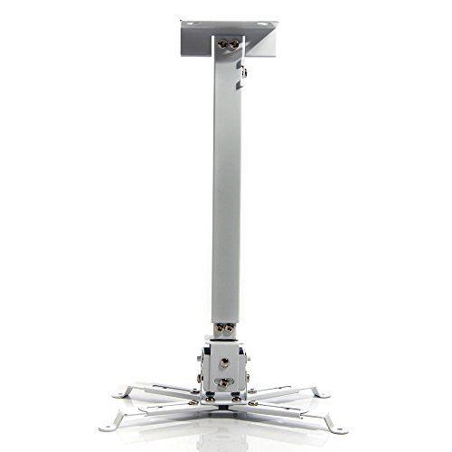 Lumsing® Soporte de techo para proyector, LCD / LED proyector de alta definición…