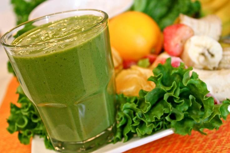 green smoothie | Don't Panic, It's Organic | Pinterest
