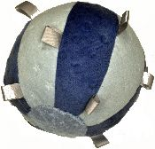 Tactile Tag Weighted Ball - The use of a weighted ball will help your child feel the deep pressure of the chair or seating surface and want to stay still. Some children enjoy the weighted ball on their chest or back when going to sleep. - Check with OT regarding appropriate weight for an individual child.