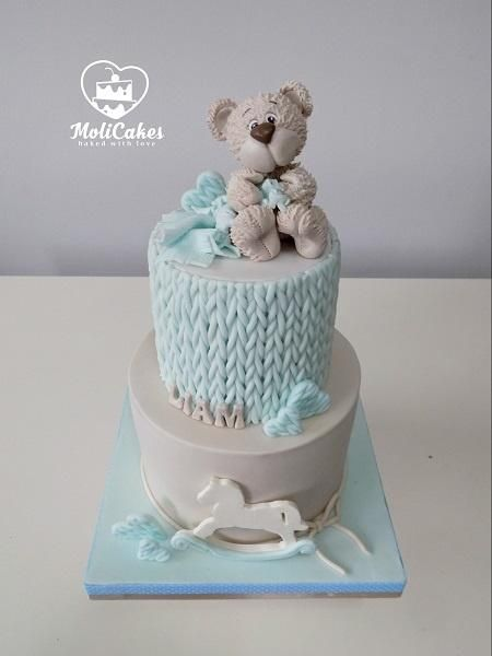 Baby boy  by MOLI Cakes