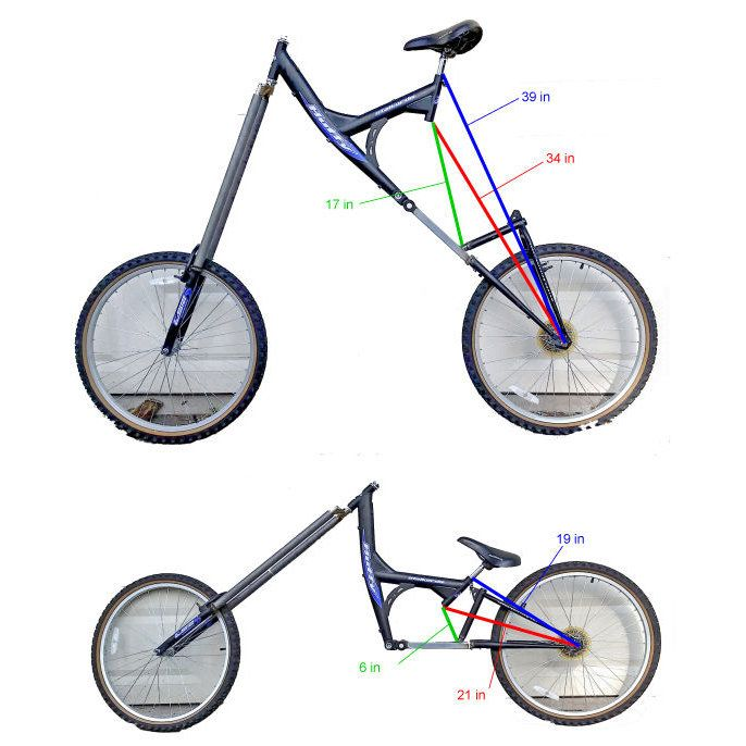 Here S How That Crazy Height Changing Bicycle Works And How To