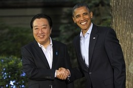 At G8, A Special Wish for Birthday Boy Noda