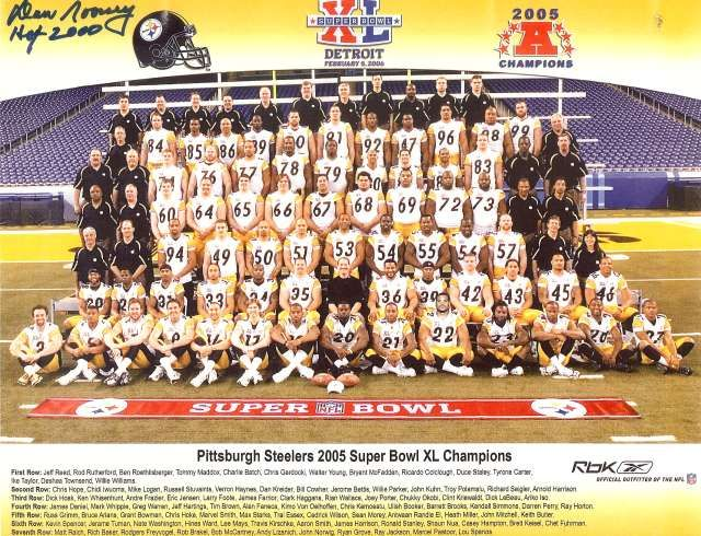 Pittsburgh Steelers - Super Bowl XL Champions (2005). A number 6 seed, they had to win three playoff games on the road to get to Detroit to win it all against Seattle (score 21-10). Hines Ward was the MVP.
