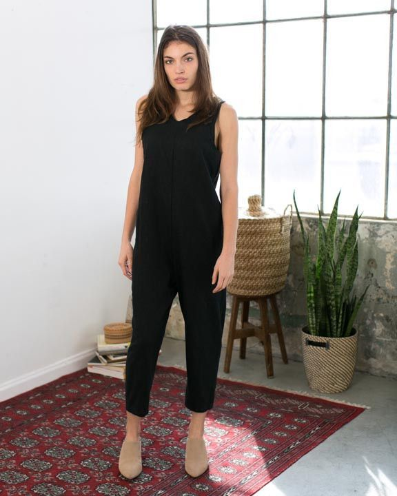 Vista Linen Jumpsuit from Only Child $225