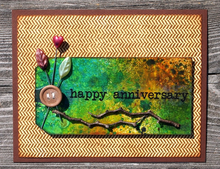 TRace's Tri's-my world of cards, scrapbooking, and Triathlons: Happy Anniversary tag card