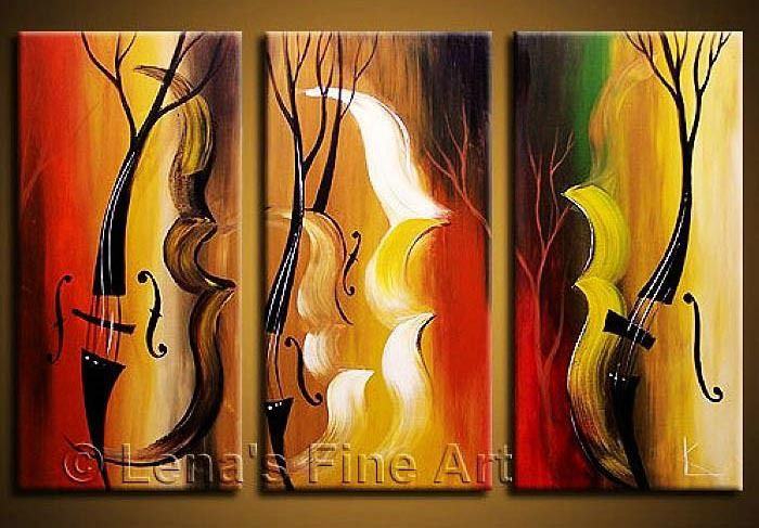 Cheap Envío gratis hechos a mano pinturas abstractas ...