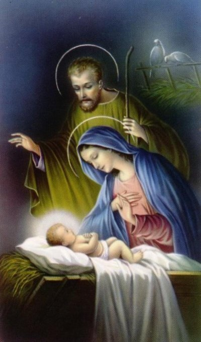 The Holy Family http://www.pinterest.com/ksunderhill/christmas-truly/   Jesus is the reason for the season.....