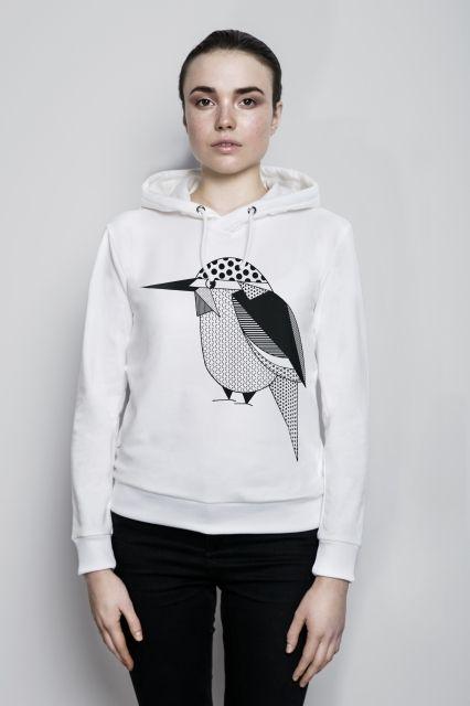 WISŁAKI_organic cotton unisex sweatshirt