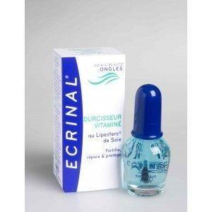 Ecrinal liquido endurecedor vitaminado unhas , invisível, repara, fortifica a unha. Estimula naturalmente o crescimento da unha, tornando-a mais resistente.