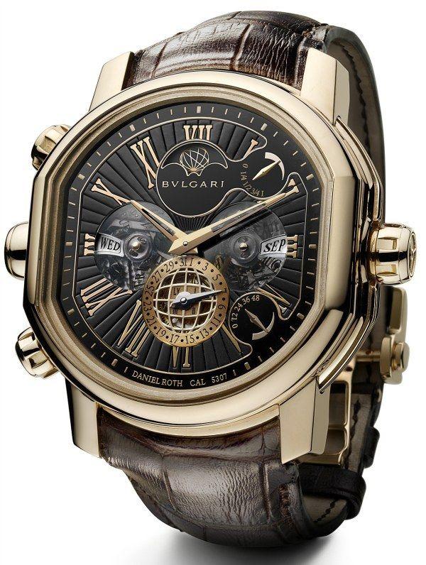 "kingmeson: "" Bulgari Daniel Roth Grande Sonnerie Quantieme Perpetual Watch Value - $1 Million """