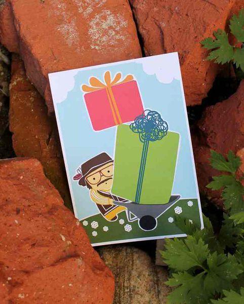 Valtavat onnittelut Sepolta -postikortti | Mailandia