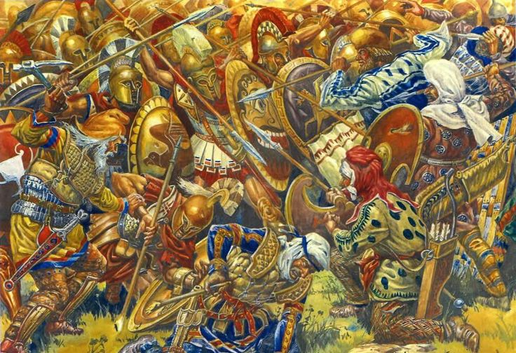 Battle of Plataea | Battle of Plataea image - Ancient Weapon Lovers Group - Mod DB