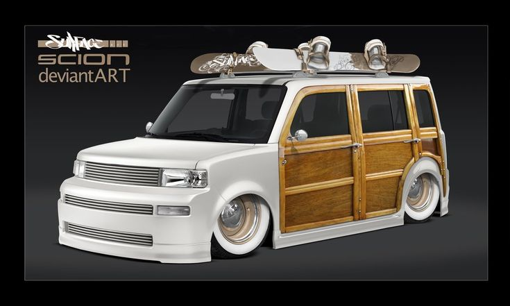 Hot Rod woody Scion xB