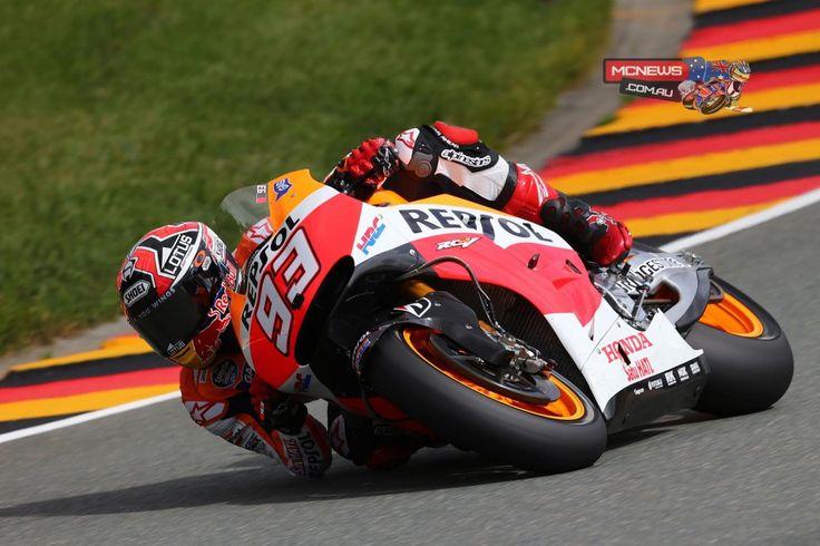 Marc Marquez, Repsol Honda: pole position Sachsenring http://www.mcnews.com.au/2014-motogp-rnd9-sachsenring-day2/