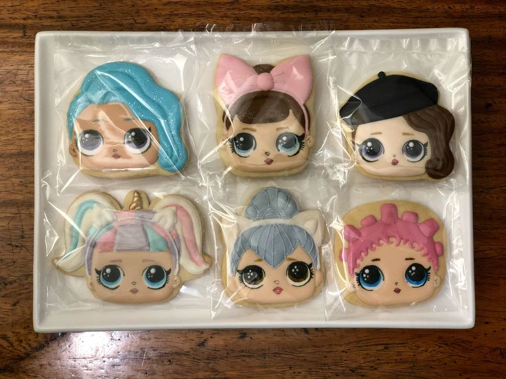 Lol Surprise Cookies In 2019 Little Miss Oc S Kitchen