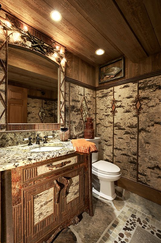 1000 Images About Bathrooms Rustic On Pinterest Log Cabin Bathrooms Rustic Bathroom