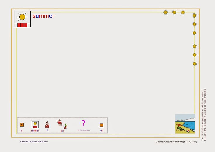 Babel - Free Language/Speech Therapy Resources. (Montessori Inspired): Games: Seasons. Winter and Summer game (clothes / ...