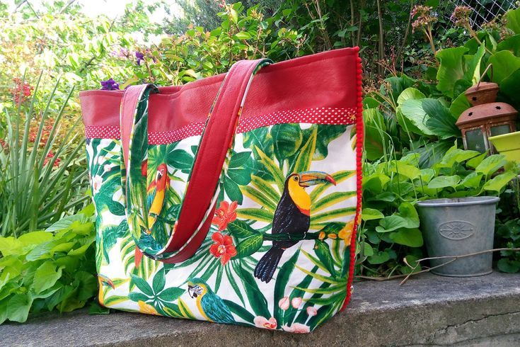 Sac Grand Cabas XlCréation Sac XlCréation Grand TropicalShopping Grand TropicalShopping Sac Cabas vNm80wn