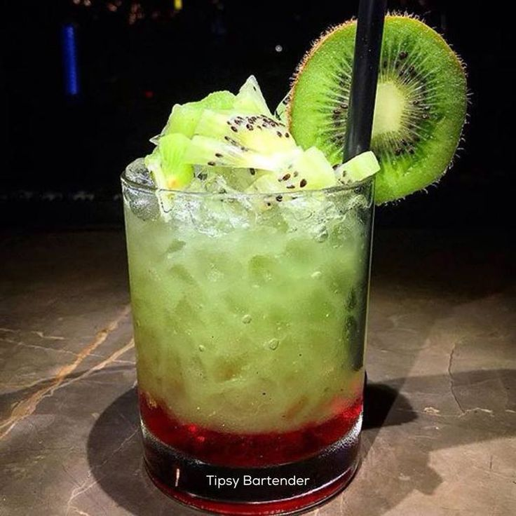 Ghosts Dancer Cocktail - For more delicious recipes and drinks, visit us here: www.tipsybartender.com